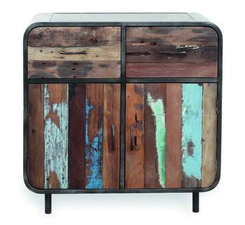 Boatwood Vintage Distressed Sideboard
