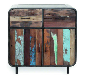 Boatwood Vintage Distressed Sideboard - living room