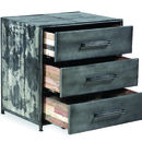 Boatwood Industrial Steel Drawers