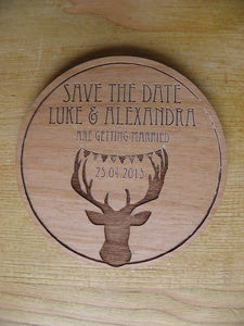 Personalised Save The Date Magnets