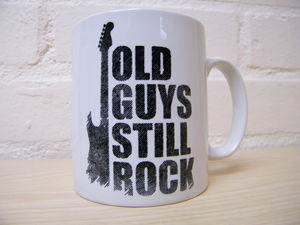 Guitar Lines Coffee Mug - dining room