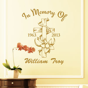 Memorial Wall Art - wall stickers