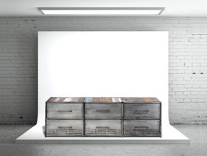 Boatwood Industrial Sideboard Tv Stand - living & decorating