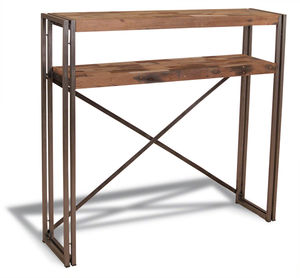 Boatwood Industrial Bar Table Console - dining room