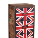 Boatwood Industrial Union Jack Drawers