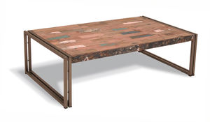 Boatwood Reclaimed Wood Coffee Table - furniture