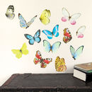 Watercolour Butterflies Wall Stickers Mini