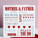 Personalised Mother Of The Bride Card