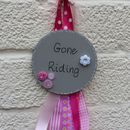 French grey with pink ribbons