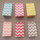 Stand Up Zig Zag Paper Bags Medium