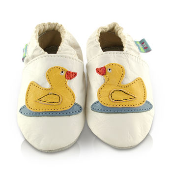 Ducks Soft Leather Baby Shoes