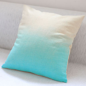 Stylish Dip Dyed Ombre Cushion Covers - patterned cushions