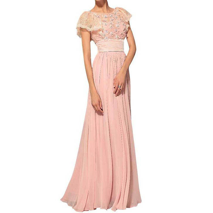 angie floral bridesmaid dress by elliot claire london ...