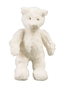 Basile Bear Baby Rattle And Teddy - soft toys & dolls