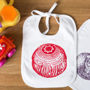 Tunnocks Teacake Baby Bib - bibs
