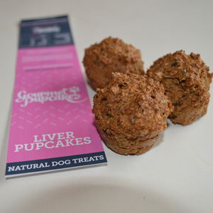 Liver Pupcakes Dog Treats - dogs
