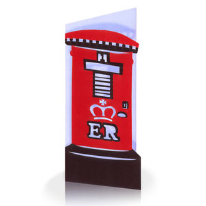Post Box Laser Cut Greeting Card - all purpose cards