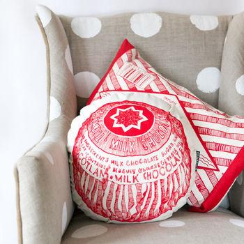 Tunnock's Teacake Round Cushion