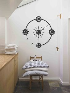 Scandi Sticker Clock - clocks