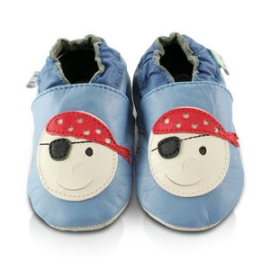 Pirate Soft Leather Baby Shoes
