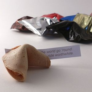 Wedding Fortune Cookies Sample Pack Of Four - edible favours
