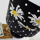 Daisy Lampshade In Charcoal Dot