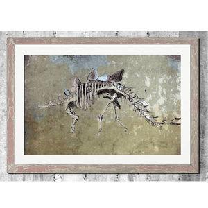 Ancient Dinosaur Print