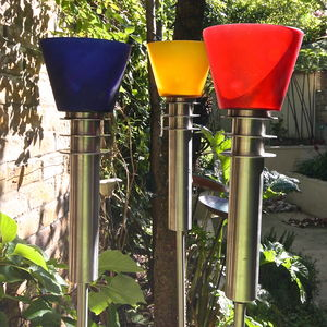 Contemporary Garden Oil Torch - christmas lights
