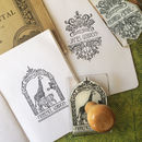 Personalised 'Filigree' Book Stamp