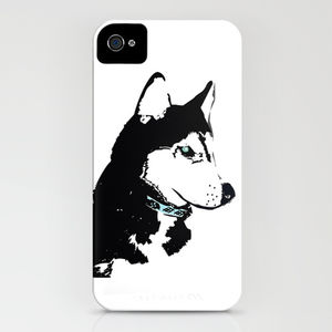 Siberian Husky Dog On Phone Case - phone & tablet covers & cases