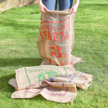 Traditional Potato Sack Race Set