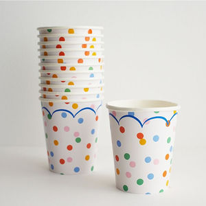 Polka Dot Party Cup Set