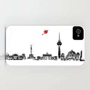 Berlin Skyline On Your iPhone Case - bags & cases