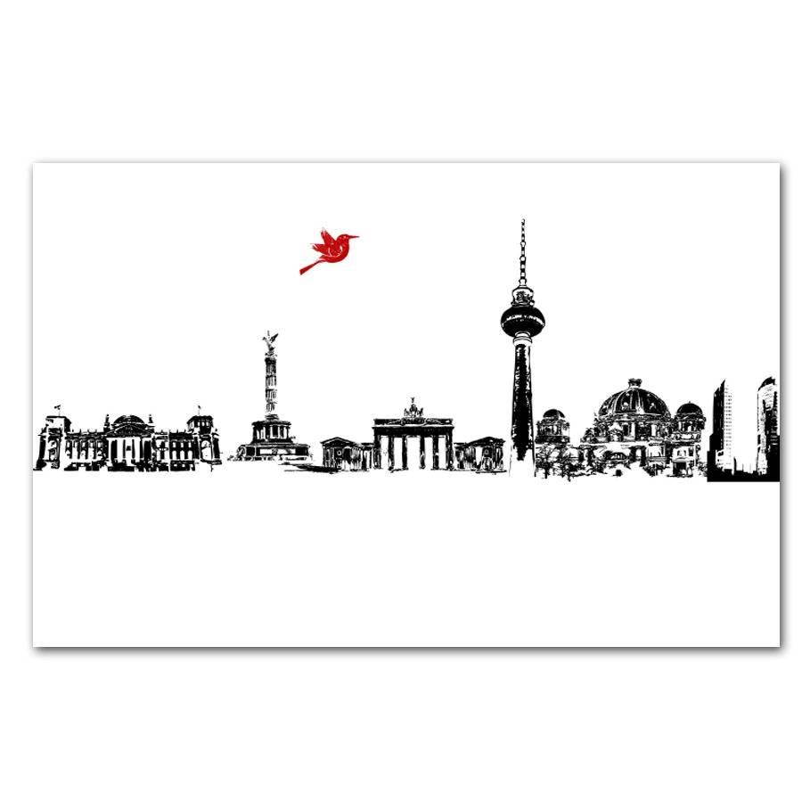 Berlin City Skyline Fine Art Print