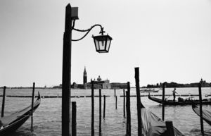 Venice, Italy, Black And White Signed Art Print - contemporary art