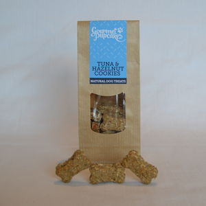 Tuna And Hazelnut Dog Cookies - food, feeding & treats