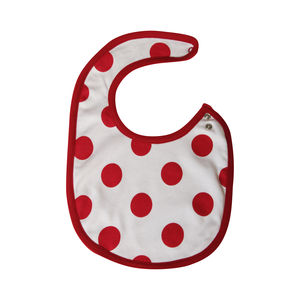 Organic Cotton Spotty Bib
