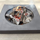 Handmade Personalised Aura Fire Pit