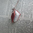 Miniature Leather Notebook Necklace