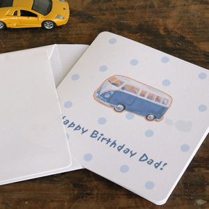 Personalised Campervan Card
