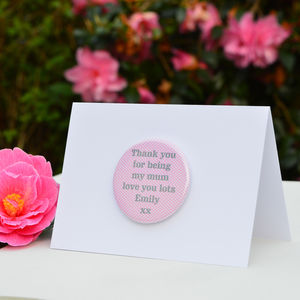 Personalised 'Thank You' Card