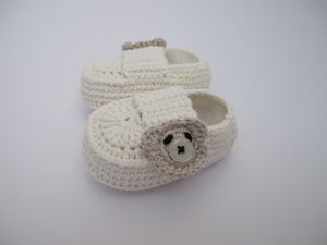 Hand Crafted Baby's First Shoes - christening wear