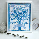 Personalised Family Apple Tree Framed Print