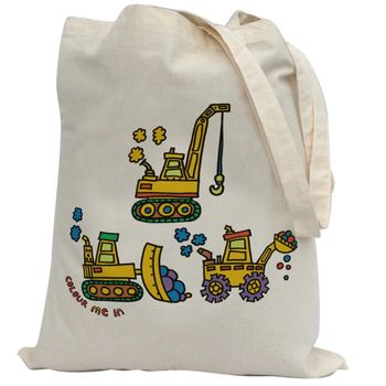 Colour In Diggers Bag