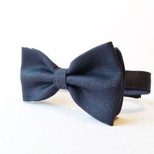 Boys Linen Bow Tie