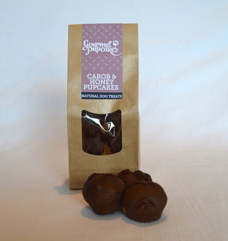 Carob And Honey Pupcakes Dog Treats