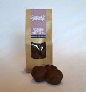 Carob And Honey Pupcakes Dog Treats - food, feeding & treats