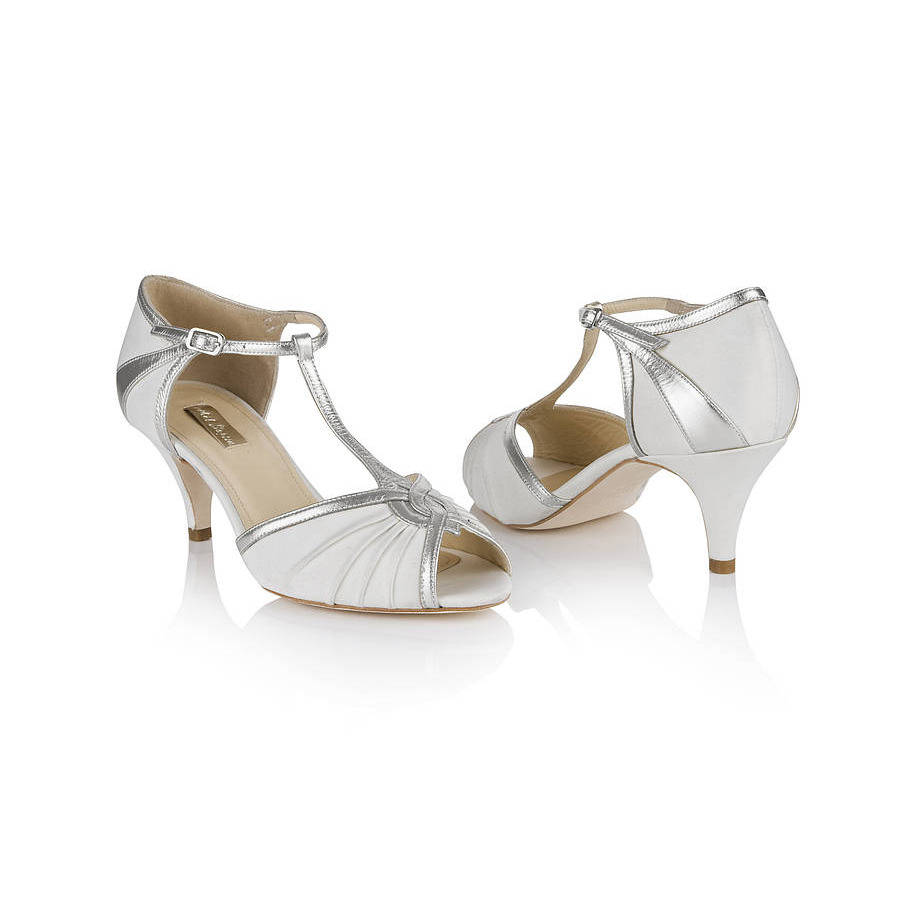 Matilda T Bar Wedding Shoes By Rachel Simpson