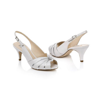 Cleo Leather Slingback Shoes