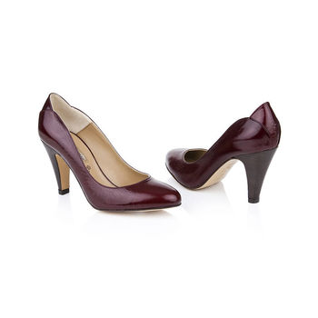 Gracie Leather Court Shoes